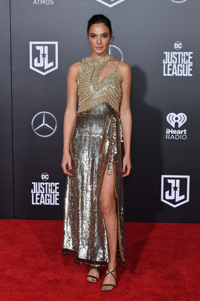 In Altuzarra At The 'Justice League' Premiere, 2017