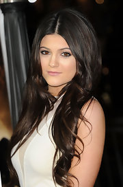 Kylie Jenner wore pale pink lipstick while attending the premiere of 'Project X.'