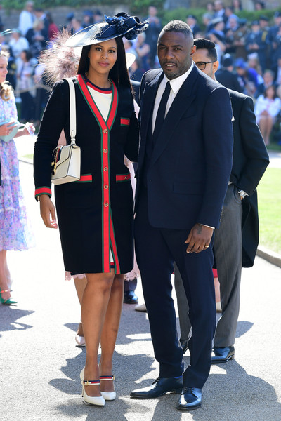 Idris Elba And Sabrina Dhowre (In Gucci)