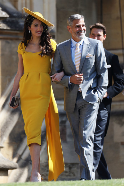 Amal (In Richard Quinn) And George Clooney