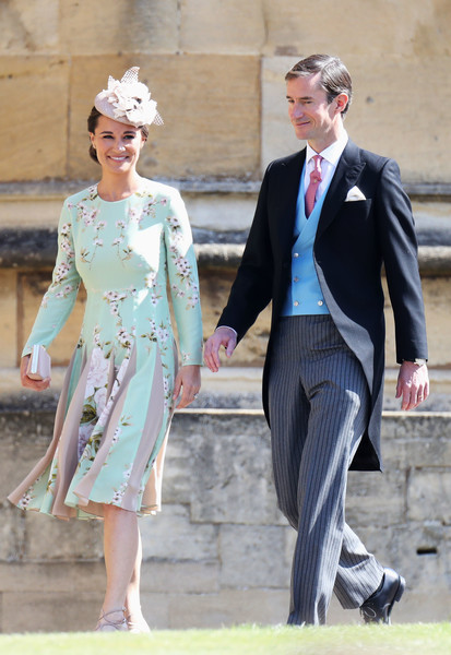 Pippa Middleton (In Hepburn) And James Matthews
