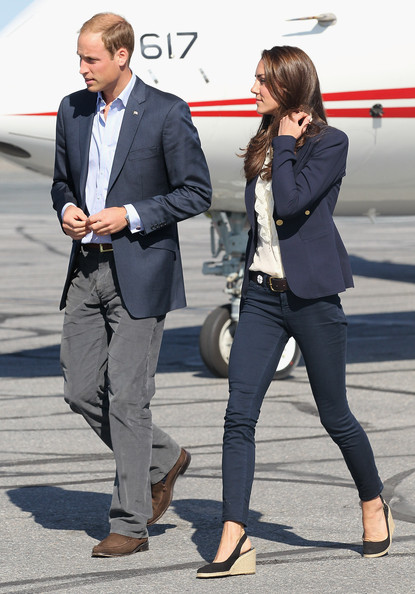 Prince William Corduroy [suit,clothing,blazer,footwear,outerwear,fashion,snapshot,formal wear,hairstyle,white-collar worker,duke,duchess of cambridge,catherine,royal couple,duchess,canada,cambridge,yellowknife airport,canadian tour,tour]