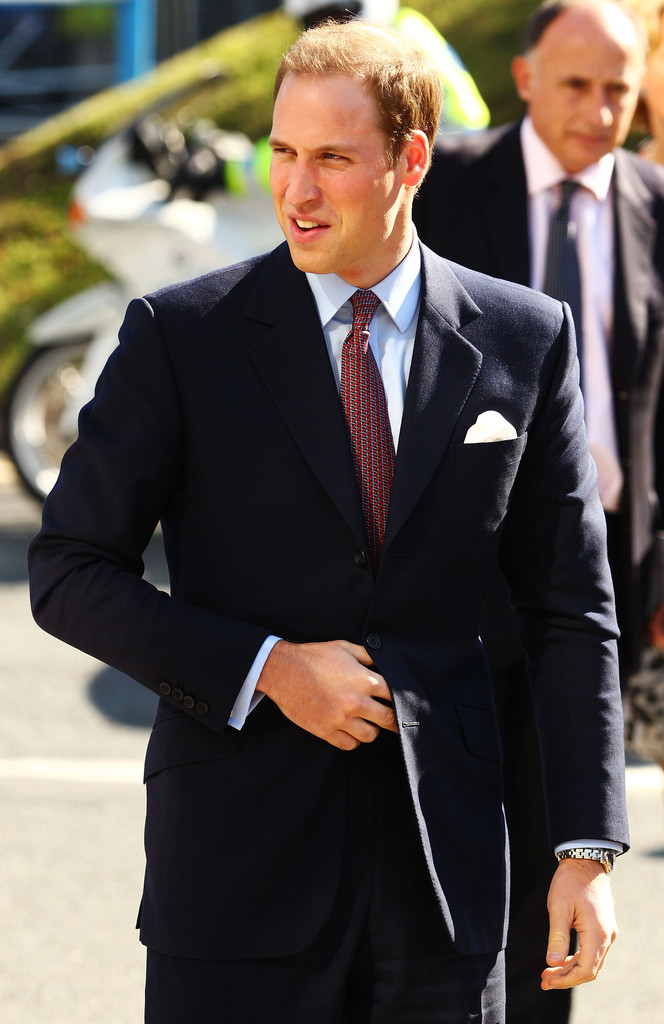 Prince William Style May 2017