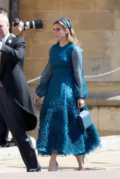 Princess Beatrice Embroidered Dress