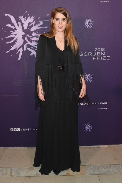 Princess Beatrice Evening Coat [clothing,dress,fashion,formal wear,carpet,flooring,premiere,outerwear,fashion design,event,arrivals,beatrice,martha c. nussbaum,annual berggruen prize gala celebrates 2018 laureate,new york city,york,new york public library,third annual berggruen prize gala]