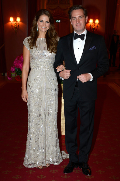 Princess Madeleine Evening Dress