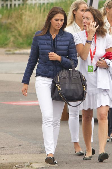Inspo: Princess Madeleine of Sweden's Casual Layers