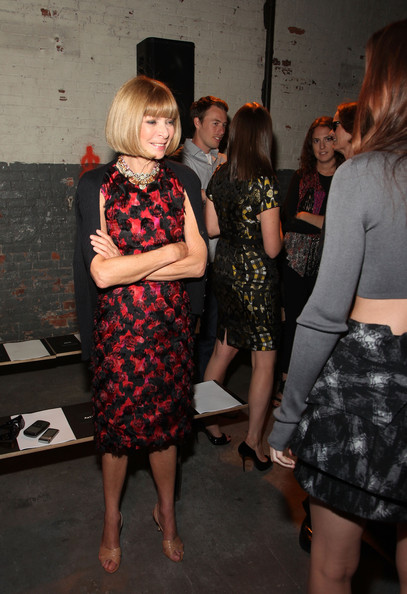 More Pics of Anna Wintour Gemstone Statement Necklace (3 of 4) - Anna Wintour Lookbook - StyleBistro