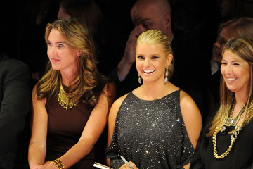 Nina Garcia Jessica Simpson Project Runway - Front Row - Spring 2011 MBFW