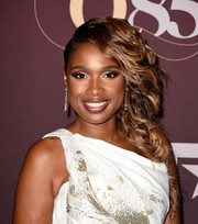 Jennifer Hudson went for fairytale glamour with this loose side braid at the Q85: A Musical Celebration for Quincy Jones.