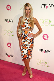 Beth Stern's floral cutout dress at the FFANY Shoes on Sale event was a perfect blend of sweet and sexy.