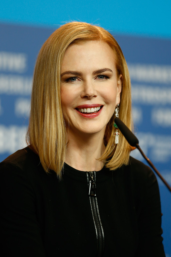 Nicole Kidman S Strawberry Blonde Cut Celebrity Hair