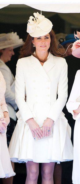 More Pics of Kate Middleton Evening Coat (1 of 47) - Kate Middleton Lookbook - StyleBistro