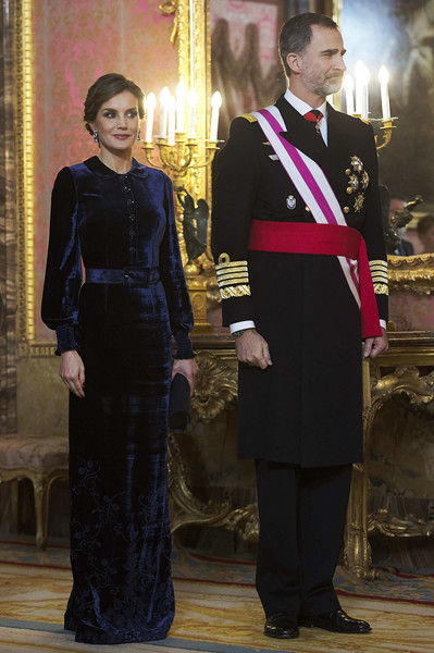 Queen Letizia of Spain Shirtdress
