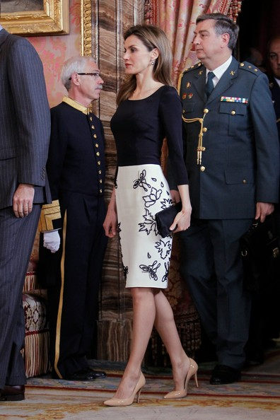 Queen Letizia of Spain Shoes