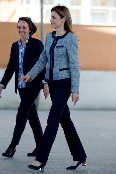 Queen Letizia of Spain Tweed Jacket