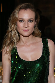 Diane Kruger glammed up her look with this wavy 'do for the Repossi Los Angeles dinner.