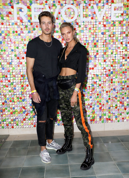 More Pics of Romee Strijd Crop Top (1 of 5) - Romee Strijd Lookbook - StyleBistro