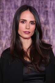Jordana Brewster looked radiant with subtle wavy hair.
