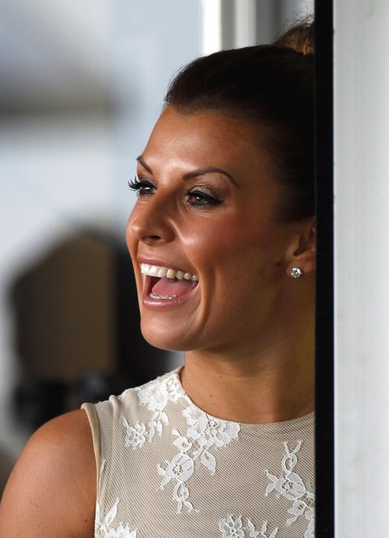 More Pics of Coleen Rooney Loose Bun (2 of 4) - Updos Lookbook - StyleBistro