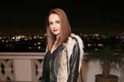 Rachael Leigh Cook Leather Shoulder Bag