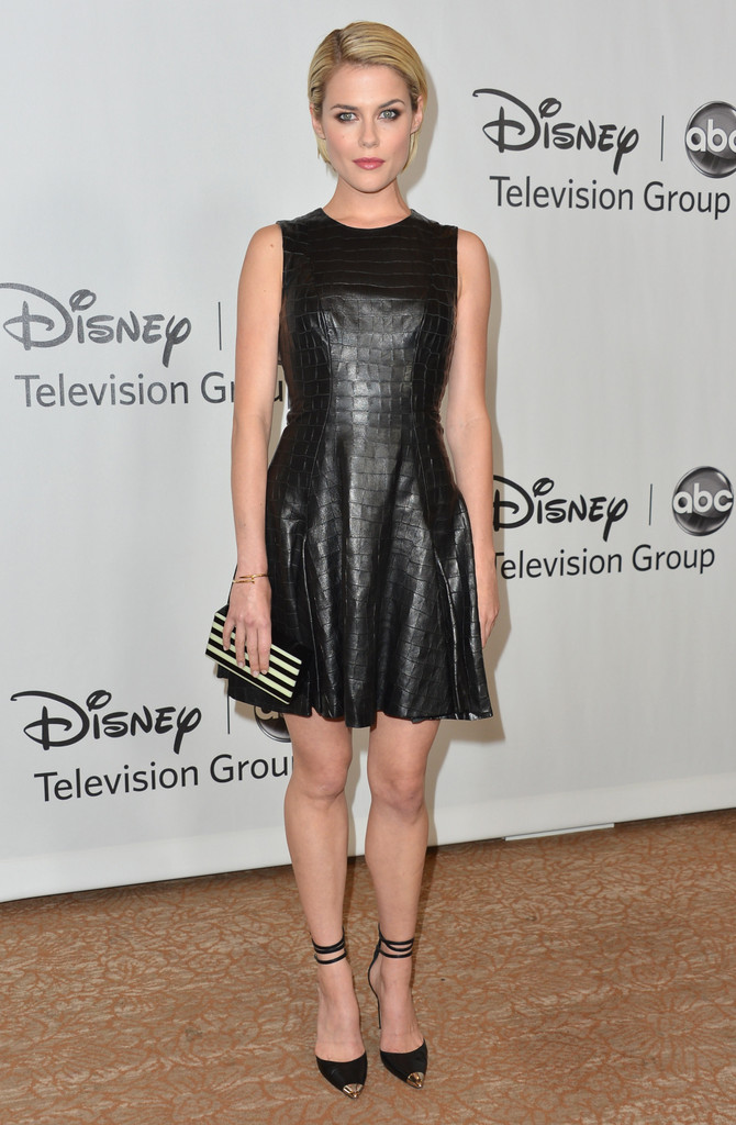 Rachael Taylor Leather Dress Rachael Taylor Looks