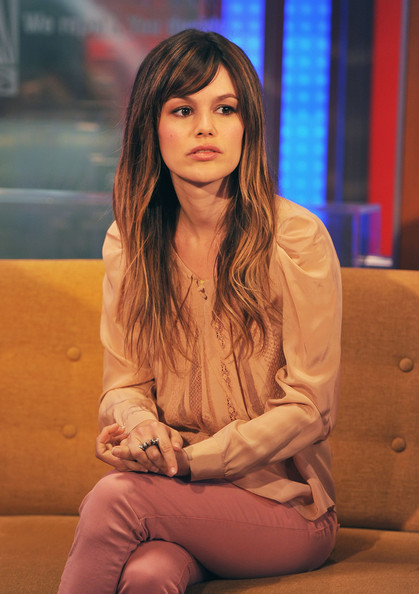 More Pics of Rachel Bilson Long Straight Cut with Bangs (5 ...