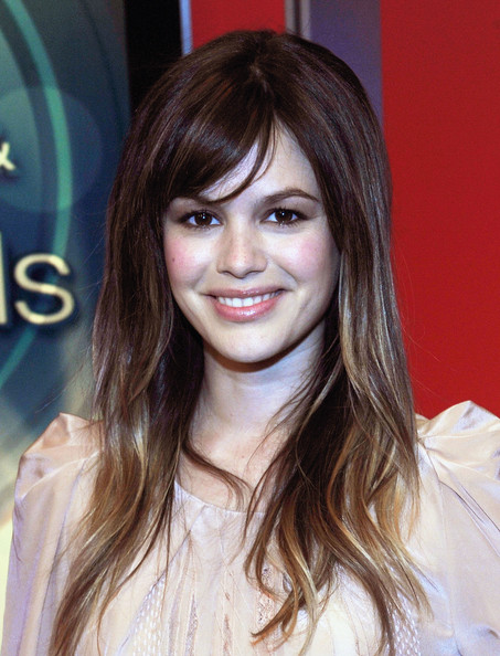 More Pics of Rachel Bilson Long Straight Cut with Bangs ...