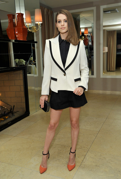 More Pics of Lyndsy Fonseca Pumps (2 of 14) - Lyndsy Fonseca Lookbook - StyleBistro