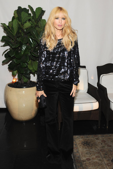 Dom Perignon And W Magazine Celebrate The Golden Globes At Chateau Marmout