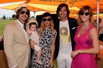 Rachel Zoe Nacho Figueras The Fifth Annual Veuve Clicquot Polo Classic - VIP Marquee