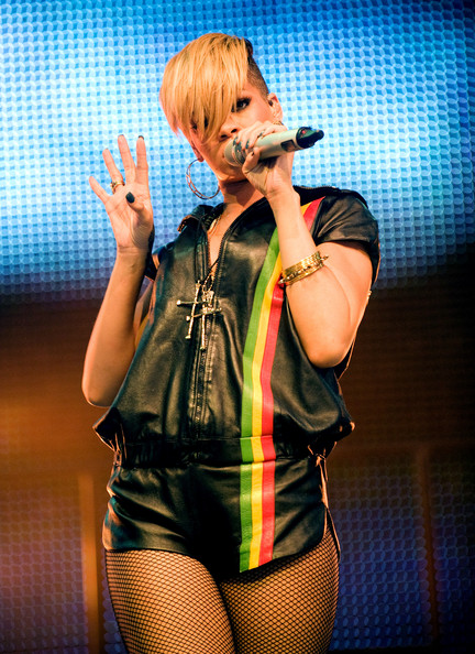 Rihanna in Radio 1's Big Weekend - Day 2