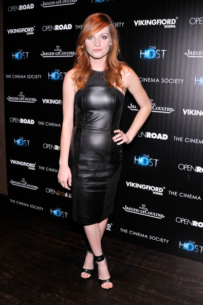 Raeden Greer Leather Dress