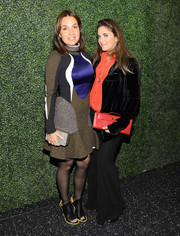Laure Heriard Dubreuil accessorized with a chic red Hermes Kelly during the screening of 'To Catch a Thief.'