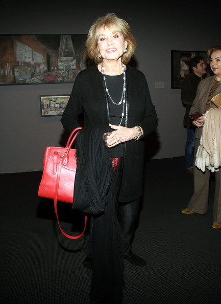 More Pics of Barbara Walters Cross Body Tote (1 of 8) - Barbara Walters Lookbook - StyleBistro