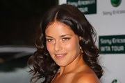 Ana Ivanovic looked downright divine at the pre-Wimbledon party with this center-parted curly 'do.