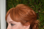 Christina Hendricks Hair Knots