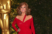 Raquel Welch Off-the-Shoulder Dress