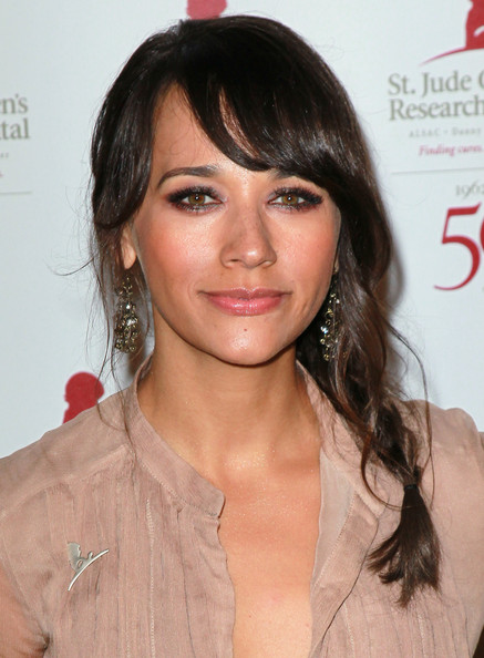 Rashida Jones Long Braided Hairstyle