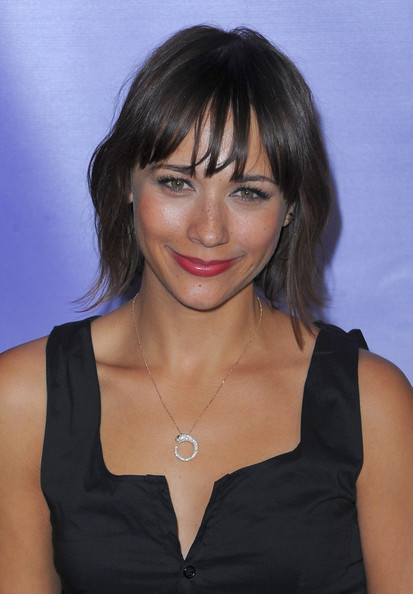 Rashida Jones Diamond Pendant
