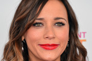 Rashida Jones Red Lipstick