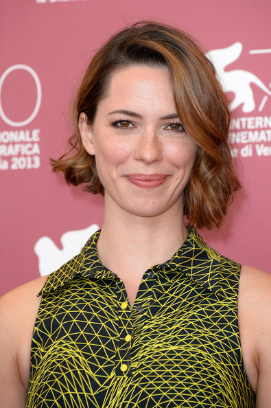 Rebecca Hall Short Wavy Cut [hair,face,hairstyle,blond,beauty,lip,brown hair,premiere,long hair,smile,venice international film festival,venice international film festival at palazzo del casino on september 4,une promesse photocall,photocall,une promesse,actress,venice,italy,rebecca hall]