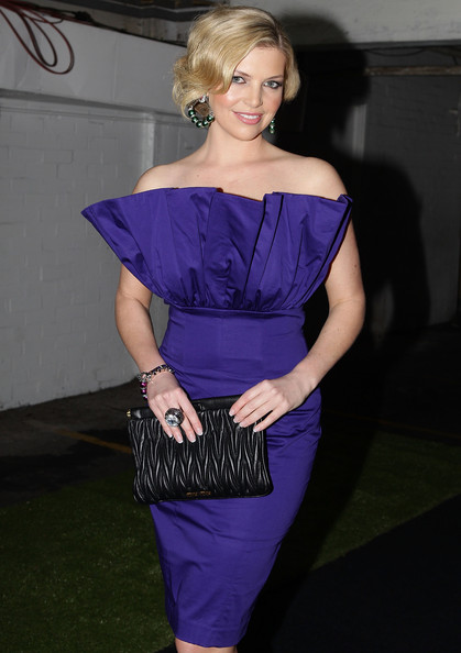 Rebecca Maddern Leather Clutch