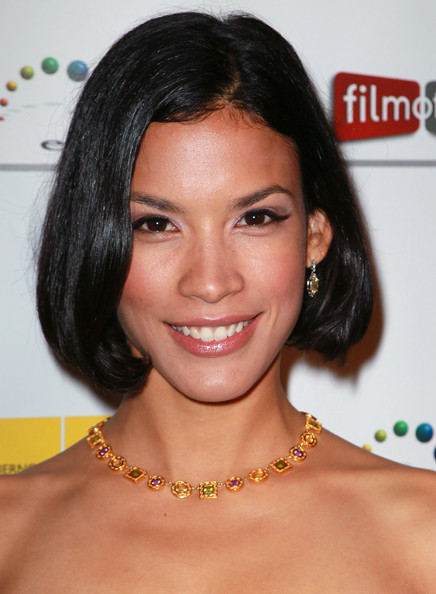 More Pics of Danay Garcia Gemstone Collar Necklace  (1 of 12) - Gemstone Collar Necklace  Lookbook - StyleBistro