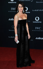 Nadia wowed in a floor-length gown at the Laureus World Sports Awards.