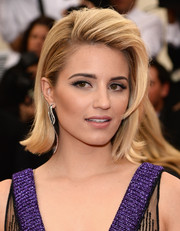 Dianna Agron looked super cool with her teased flip at the Met Gala.
