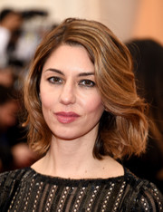 Sofia Coppola looked girly with her wavy bob at the Met Gala.