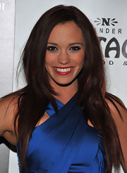 Jessica Sutta looked great with her layered cut down at a premiere held in Pantage.