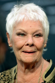 Judi Dench rocked a mussed-up pixie at the 2018 Zurich Film Festival premiere of 'Red Joan.'