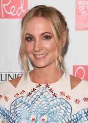 Joanne Froggatt looked fetching with her braided updo and face-framing tendrils at the Red Women of the Year Awards.
